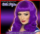 FANCY DRESS # CALIFORNIA GIRL KATY PERRY PURPLE WIG
